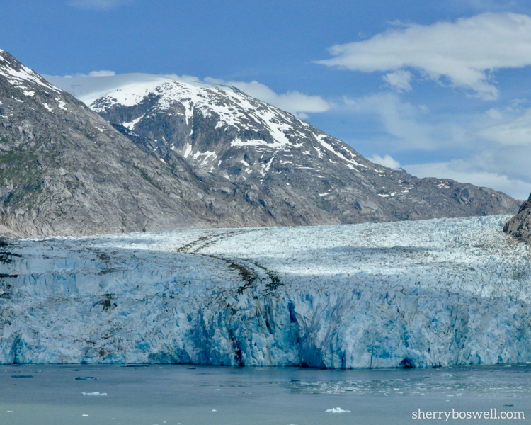 Alaska cruise tips for viewing the Dawes glacier up close